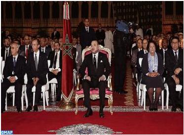 SM le Roi préside la cérémonie de lancement du programme de mise à niveau urbaine intégrée de la ville de Salé 2014-2016