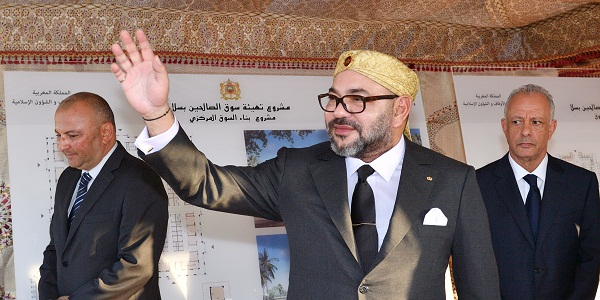 SM le Roi lance le projet d'aménagement de «Souk Assalihine»