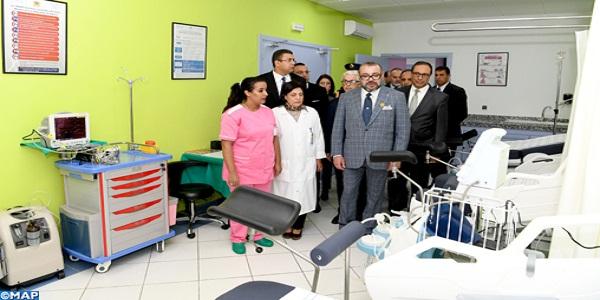 SM le Roi inaugure un Centre de soins de santé primaires à Sidi Bouknadel à Salé