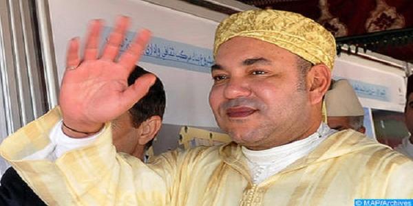 SM le Roi, Amir Al-Mouminine, inaugure à Salé la «Mosquée SA la Princesse Lalla Latifa» et y accomplit la prière du vendredi